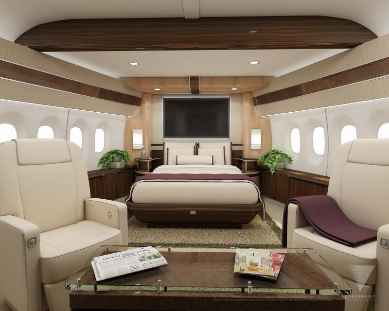 Boeing 747 8 vip delivery time to think for Boeing 747 8 interieur
